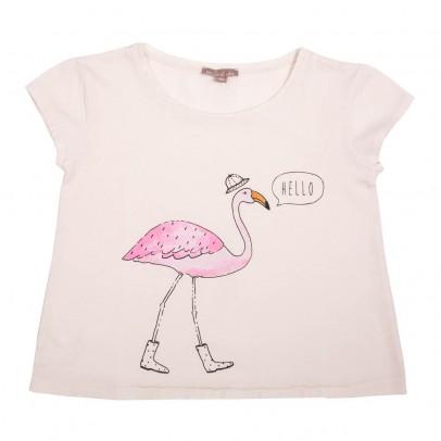 t-shirt-fenicottero-rosa-ecru