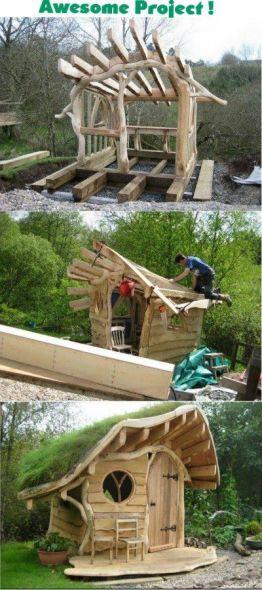 oak playhouse by James O'Keefe