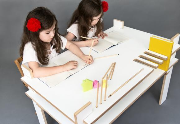 IO Kids Design al Design Junction, nuovi Tavoli e Scrivanie