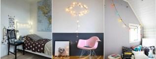Un filo di luce in cameretta: decorazioni e ispirazioni.