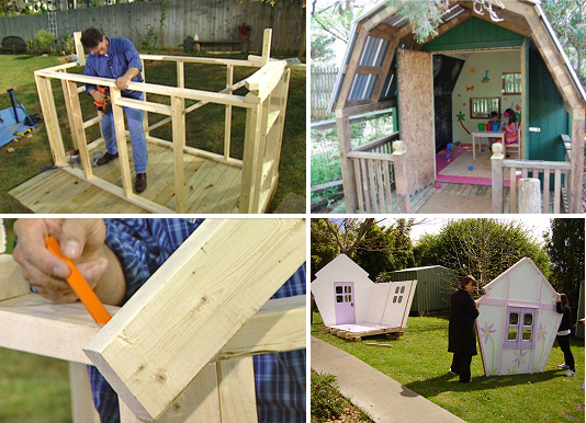 5 casette in legno fai da te mercatino dei piccoli - Costruire casa di legno ...