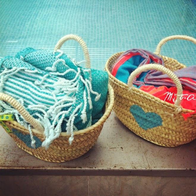 Borsa da spiaggia DIY fai da te