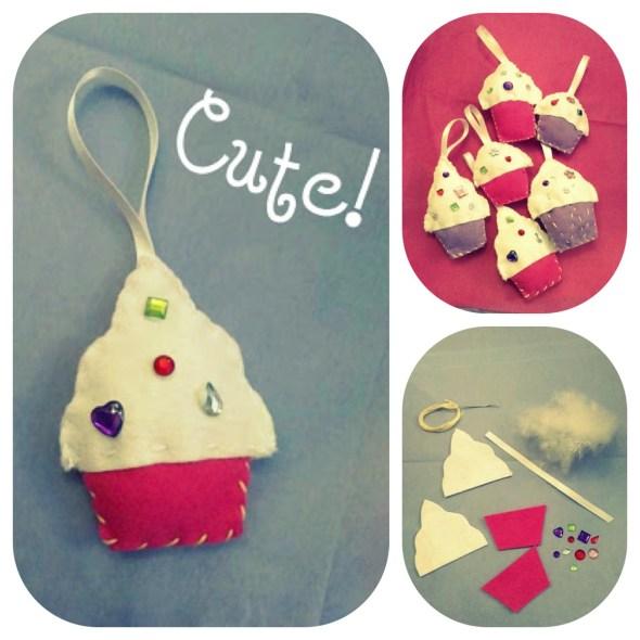 I Love Crafty -decorazioni in feltro