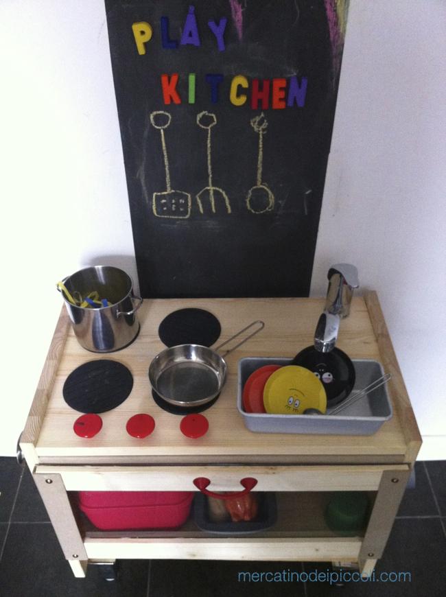 Come ho costruito la cucina giocattolo per i miei bambini - Cucine per bambine ...