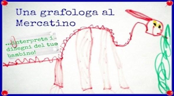 Una grafologa al Mercatino dei Piccoli