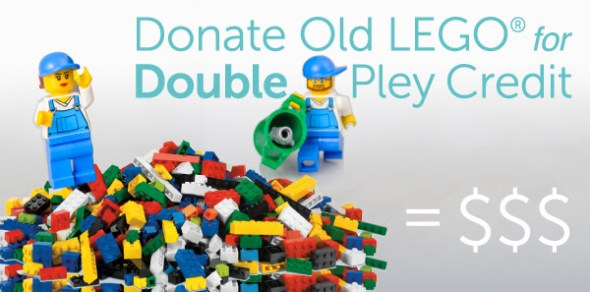 pley donate lego