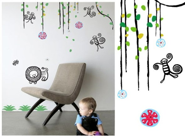 wee gallery- wall graphics