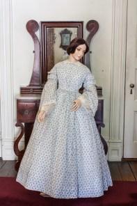 Dress on display
