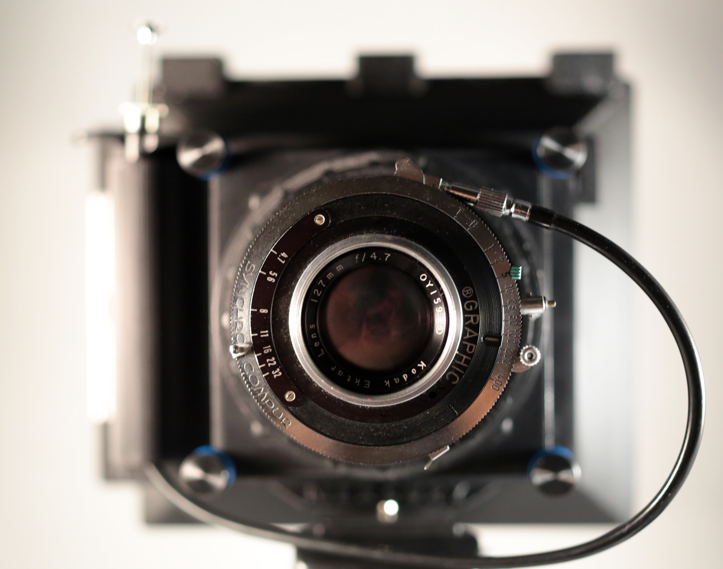 large format- Graflex Ektar 127mm lens-w