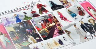 Scrapbooking Process Double Page: Barbie Expo
