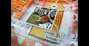 Art Journal Process: Autumn in Halifax