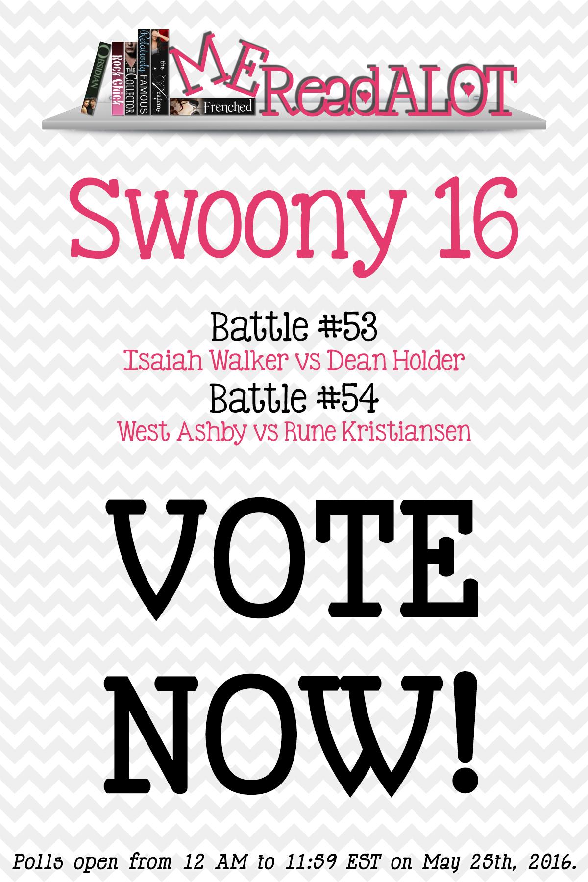 Book Boyfriend Battles – Swoony 16 – Day 3