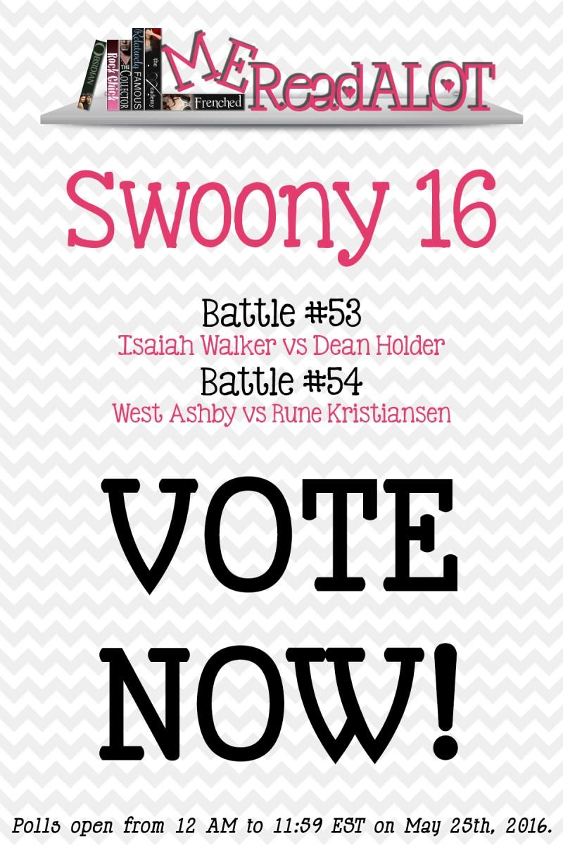 Book Boyfriend Battles - Swoony 16 - Day 3