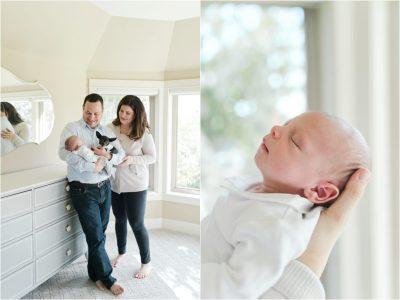 Lifestyle Newborn Session: Bellevue Newborn Photographer ...