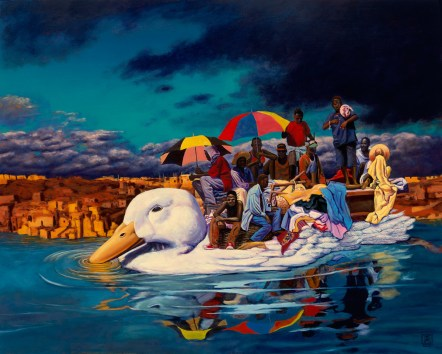 Odyssey by Jeff Jordan, Limited Edition print from original oil painting.