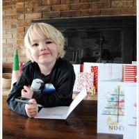 [fingerprint Christmas tree cards]