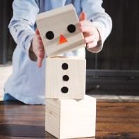 Modern Snowman Blocks