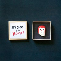 Make a Rock Portrait for Mom!