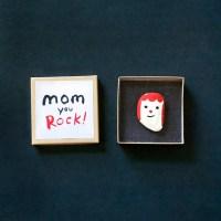 Make a Rock Portrait for Mom!