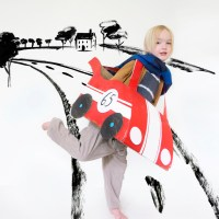 Make your own cardboard car + Kids 21 instagram contest!