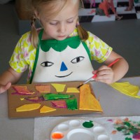 KIDS CRAFT CAMP Unit 2: Painting + Printmaking Techniques for Kids