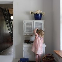 Playful French Industrial finds for the Banister House
