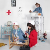 Play Hospital & Child's Nurse Costume