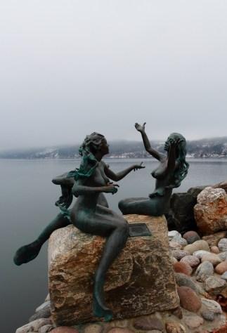 Drøbak Mermaid Sculptures
