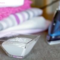 Detergente líquido de lavadora ecológico casero.