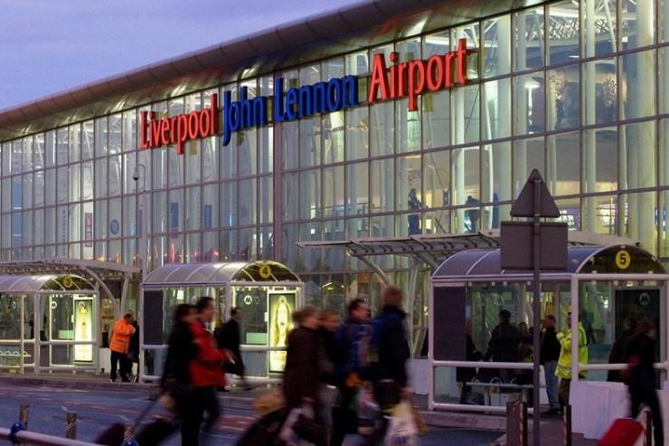 Liverpool airport terminal building