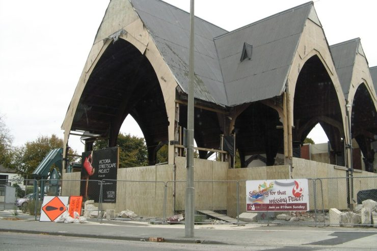 Christchurch: what you get when creative folk are given their head