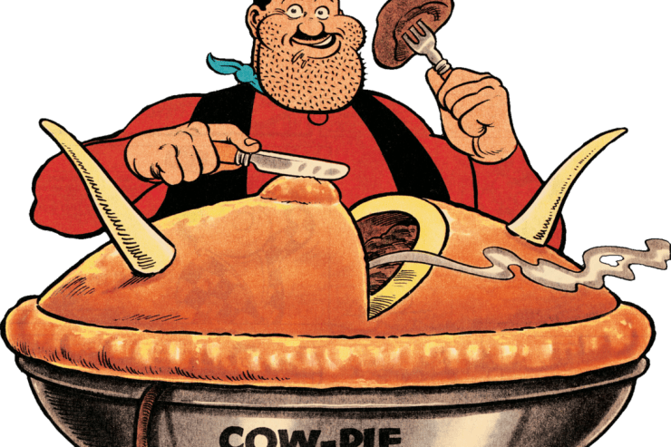 There's nothing like cow pie