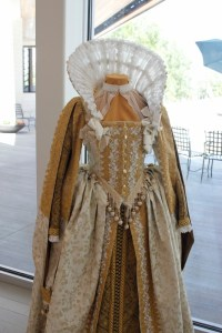 A behind the scenes tour give visitors a close-up look at costumes.