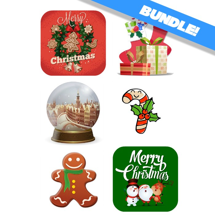 christmas Sticker bundle for iMessages