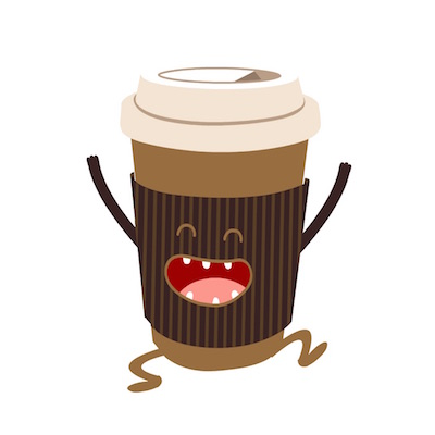 espresso coffee free iOS sticker messages pack