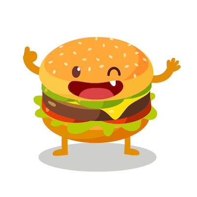 Sandwich Fixings Stickers for iOS 10 Message Apps