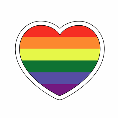 gay pride stickers for iOS messages