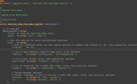 Show/hide meta box using Javascript