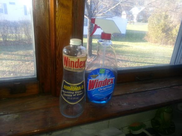 1973 Glass Windex Bottle