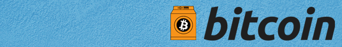 Bitcoin logo with the circle around the icon being replaced with a washing machine.