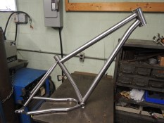tacked frame