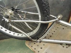 welded frame detail
