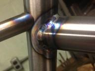 Sean's seat tube weld