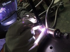 Justin welding seat tube 2