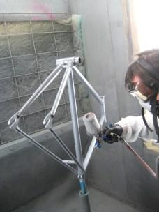 spraying primer