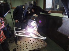 Frank welding rear triangle 2