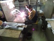 aluminum frame welding