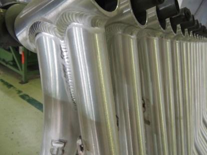 aluminum welds