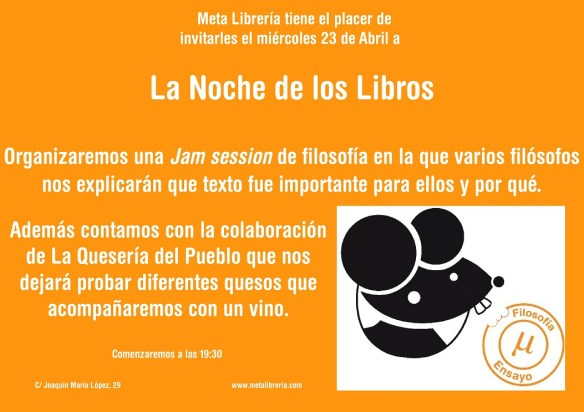 Noche libros 2014