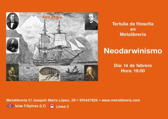 Tarjeta presentación Neodarwinismo WEB